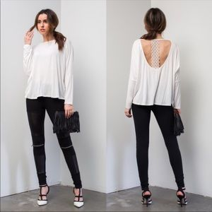 Tops - Lace back detail top